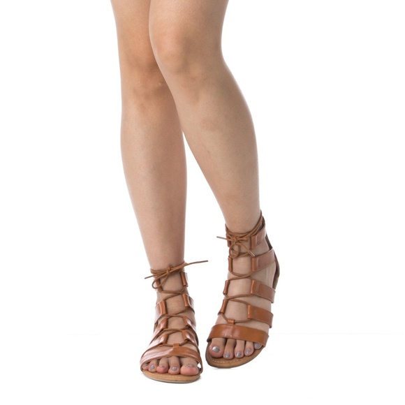 720d868e2d20 Women s Ankle High Lace Up Tie Up Gladiator Sandal